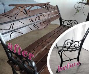 Wooden Bench Restoration