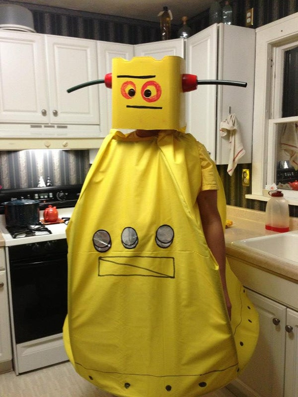Instructables Robot Costume