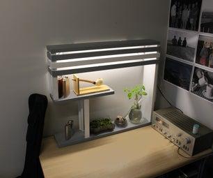 Desk Shelf With Light