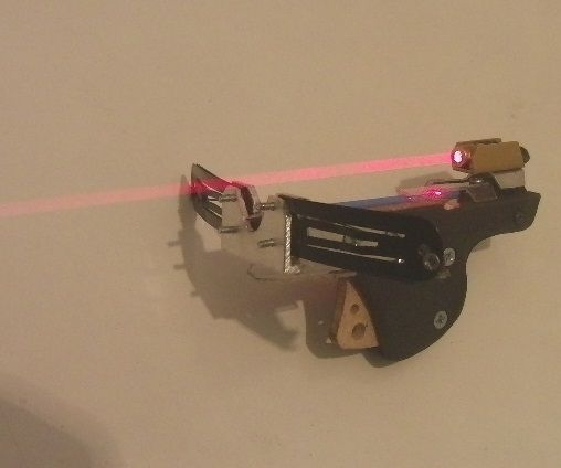 Tiny Pistol Crossbow w/ lasersight