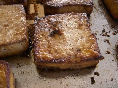 Easy Spicy - Yummy Baked Tofu