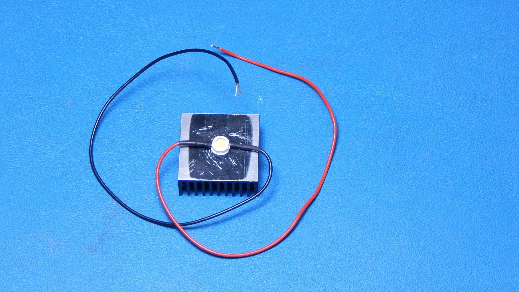 The LED, Thermal Cutoff, and Heatsink Wiring