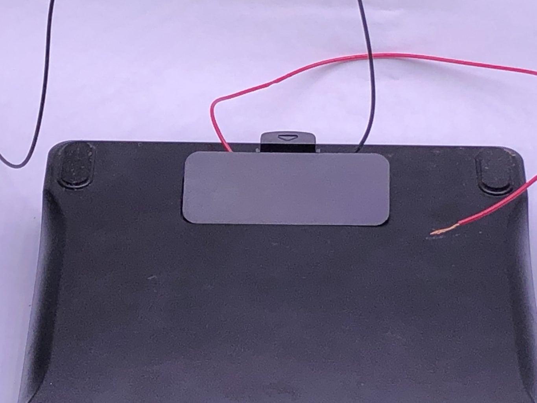 Trim Battery Door As Needed