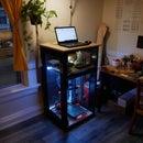 3D Printer Enclosure and Standing Desk