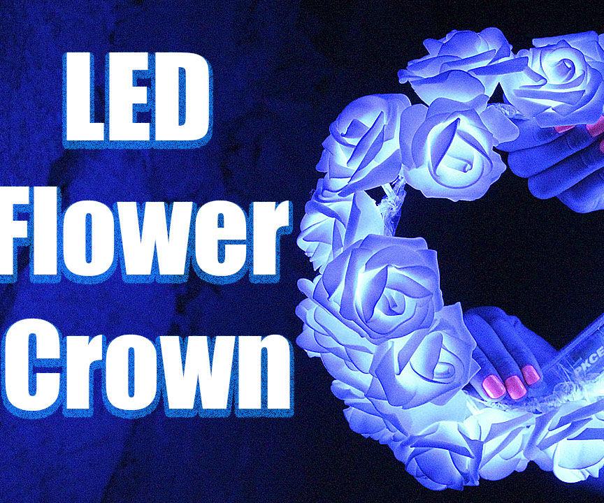 DIY: LED Flower Crown ♛ / TUTORIAL