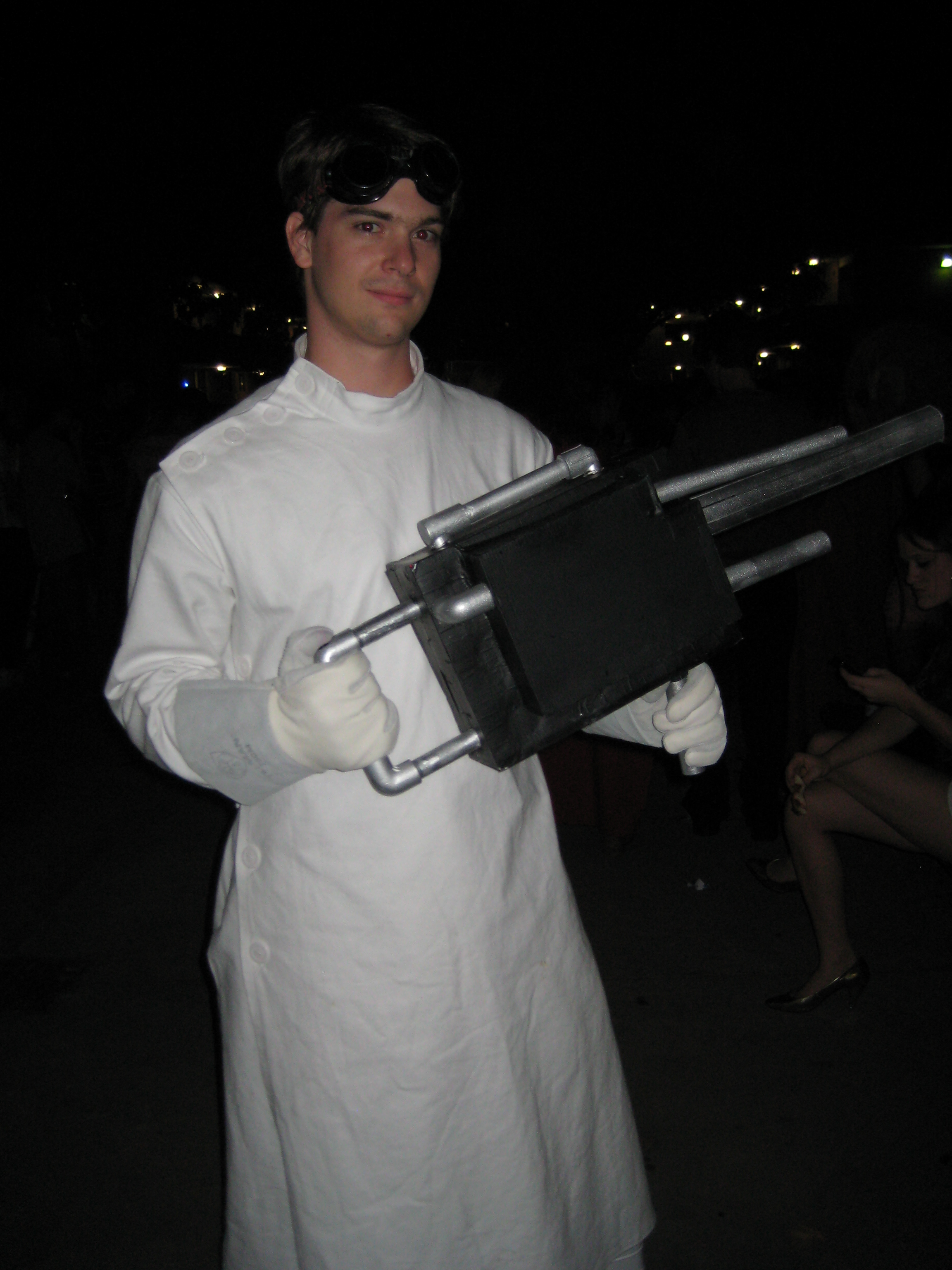 Dr. Horrible Lab Coat and Freeze Ray