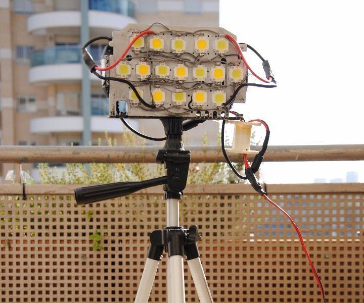 SpectrumLED- An INSANELY Bright 200 WATT Variable Spectrum LED Panel