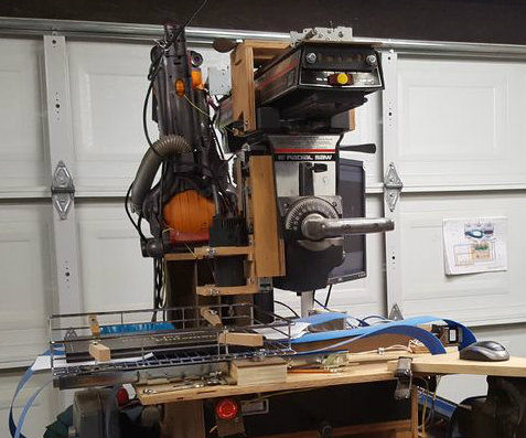 How to make a CNC Router from a Radial Arm Saw