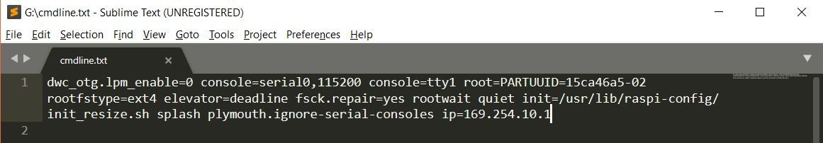 Add Ip and Enable SSH