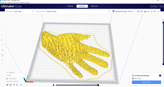 Print Your Model With Cura