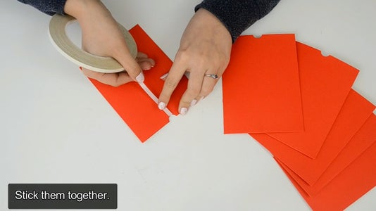 Sticking the Envelopes on the Cover