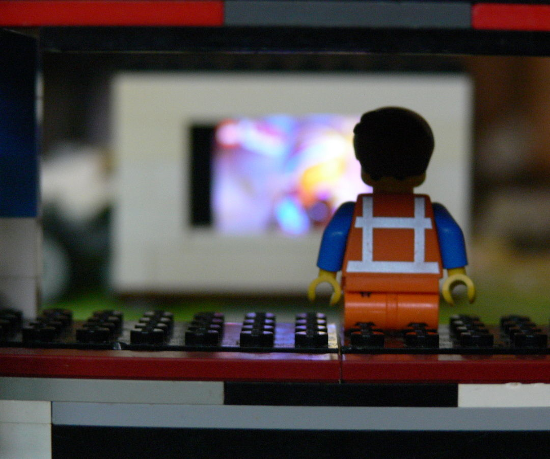 LEGO Brick TV