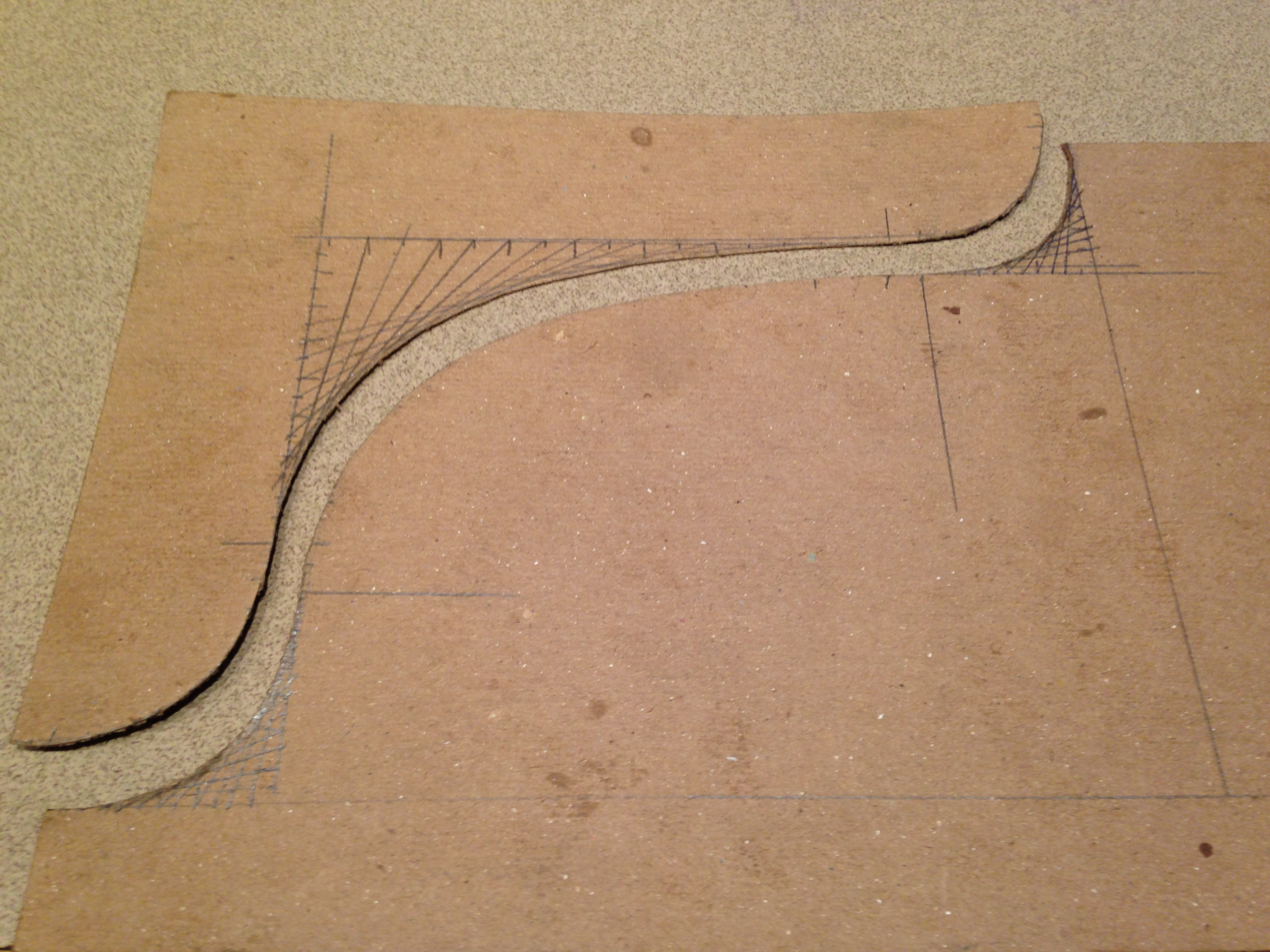 Construct Curves to Smoothly Connect Lines at Any Angle
