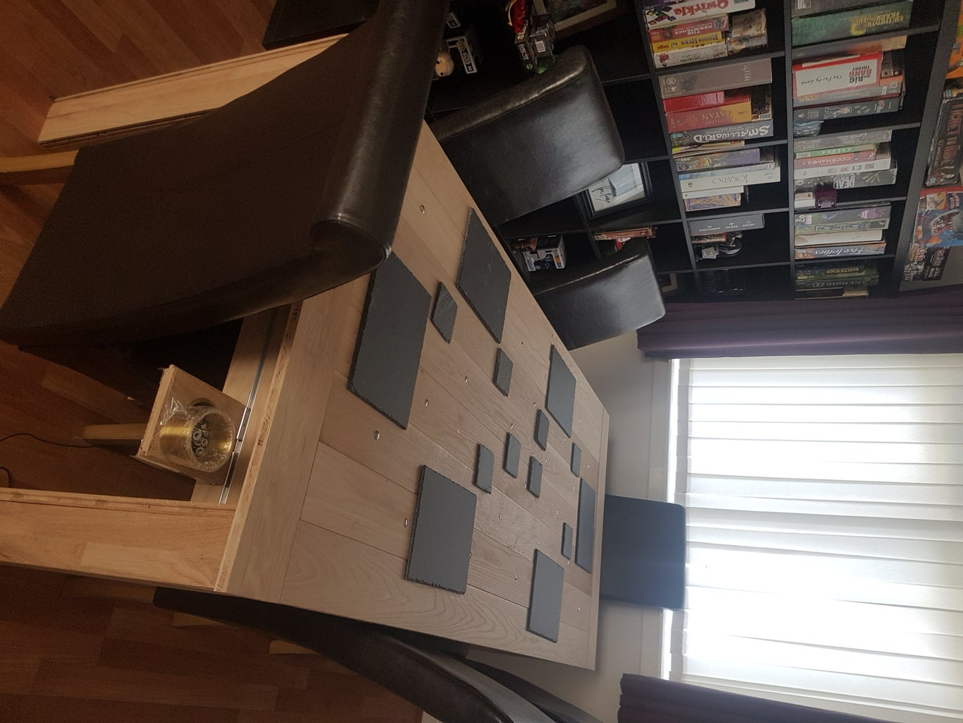 Gaming/Dining Table From Oak Flooring