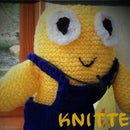 Knitted Cuddly Minions