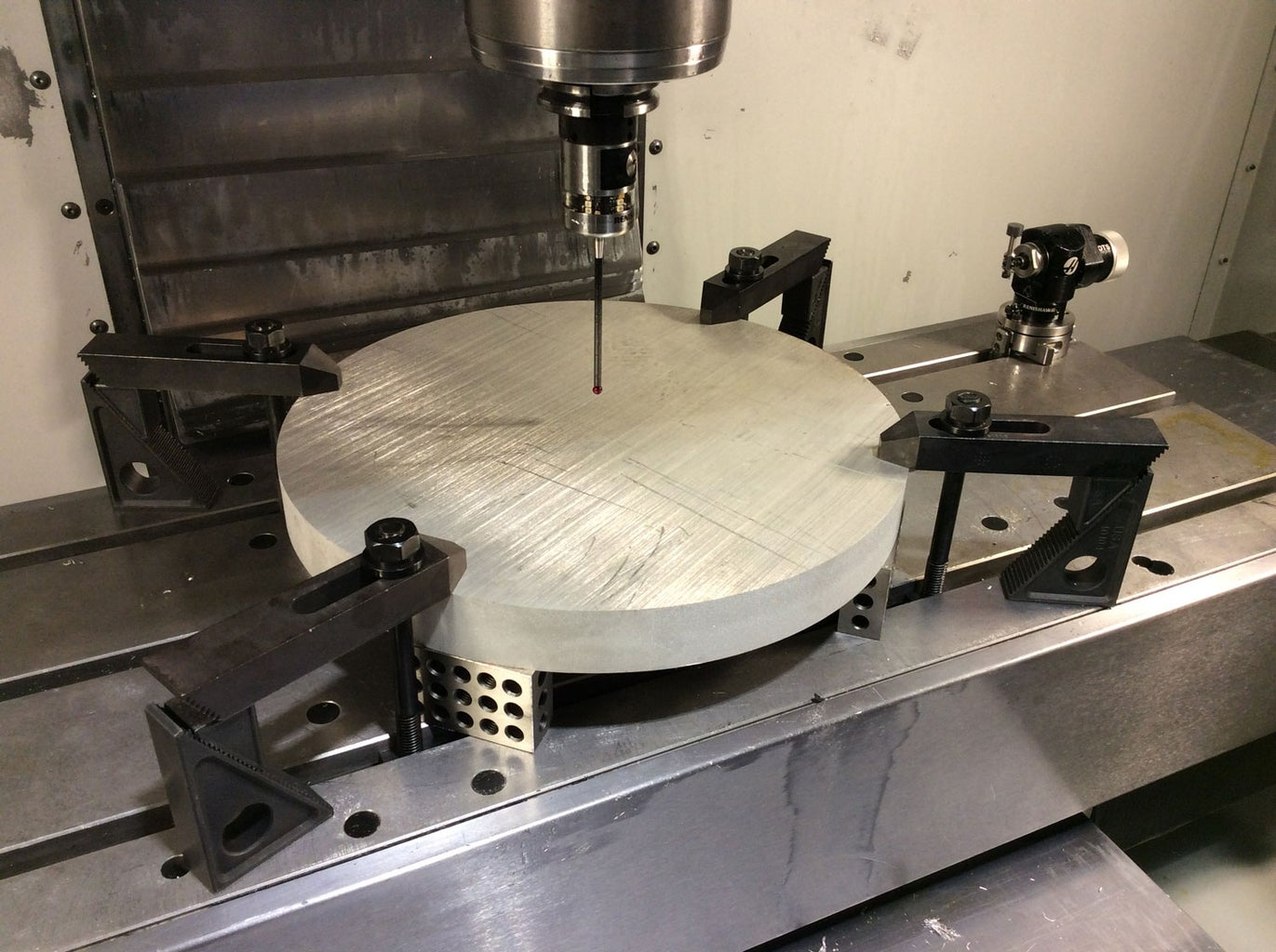 OP-1 Setup in Fusion 360 and on the Haas VF2 Milling Machine