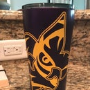 Painting a Tumbler