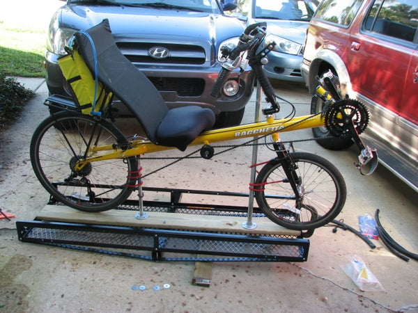 A $65 Recumbent Bike Carrier