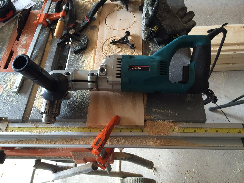 Drill / Cut the Circle Holes