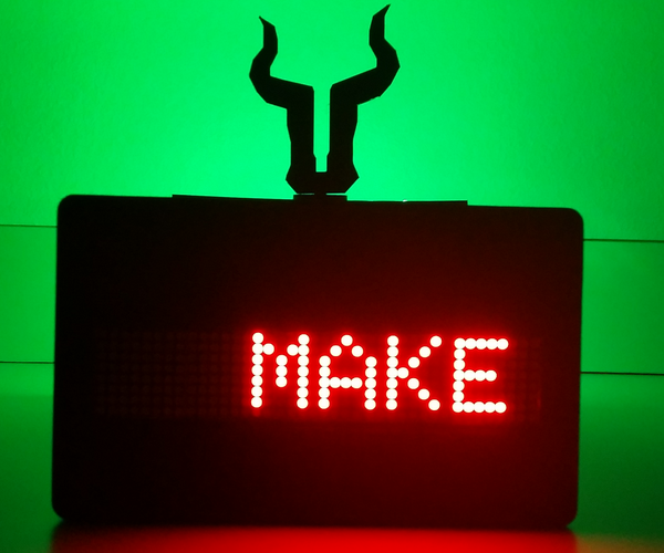 Text Message Enabled Man Cave Sign and Music Light Box