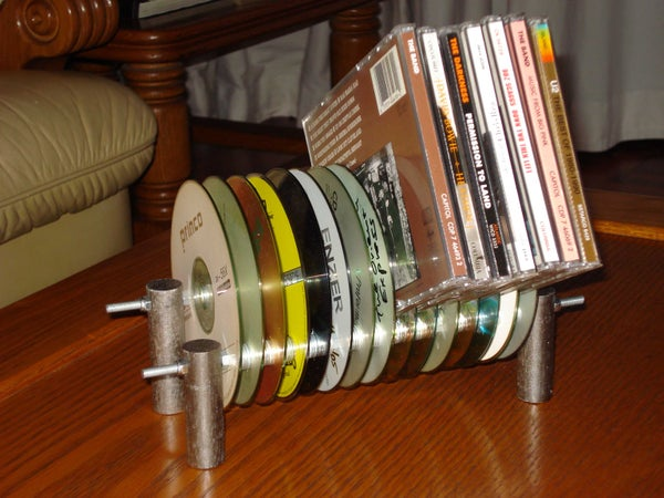 CD Rack From Old CDs