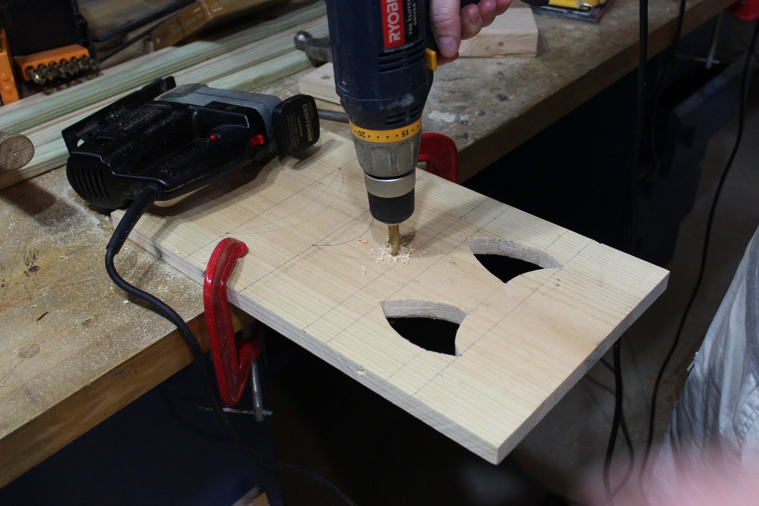 Cutting the Holes - Step 1