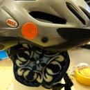 Easy Ear Warmers for Bicycle Helmet