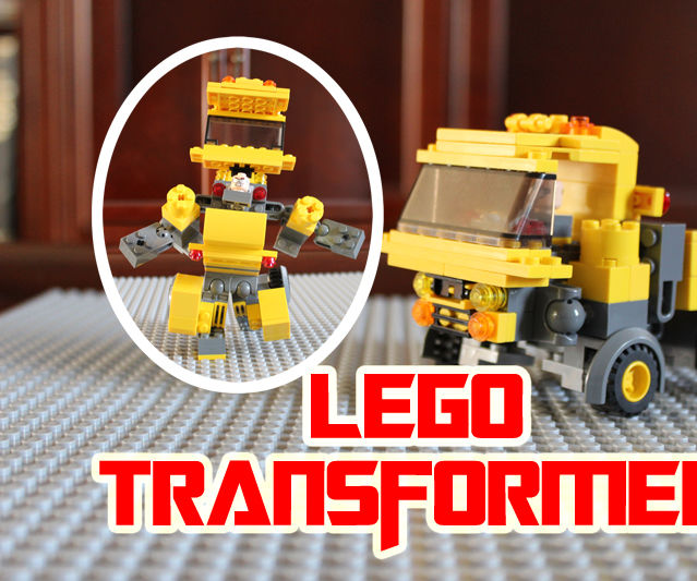 How to Build a LEGO Transformer
