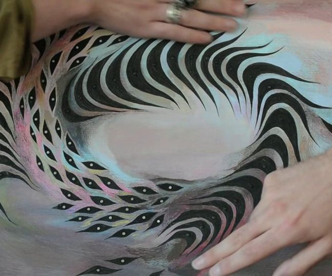 Touch-Sensitive Musical Painting