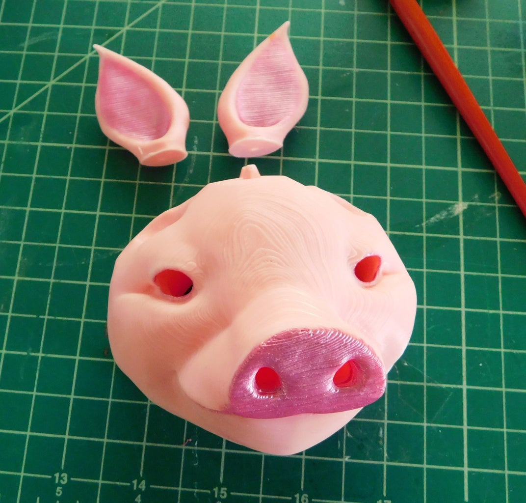 The Painting of Sir Pigglesby Head and Ears