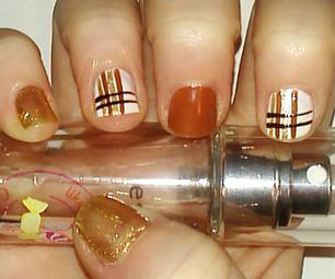 Striped Nail Art Tutorial   Samantha Beauty