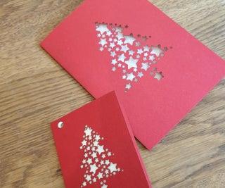 Creating Christmas Cards Using Lightburn