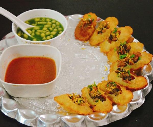 Gluten-free Indian Pani-Puri