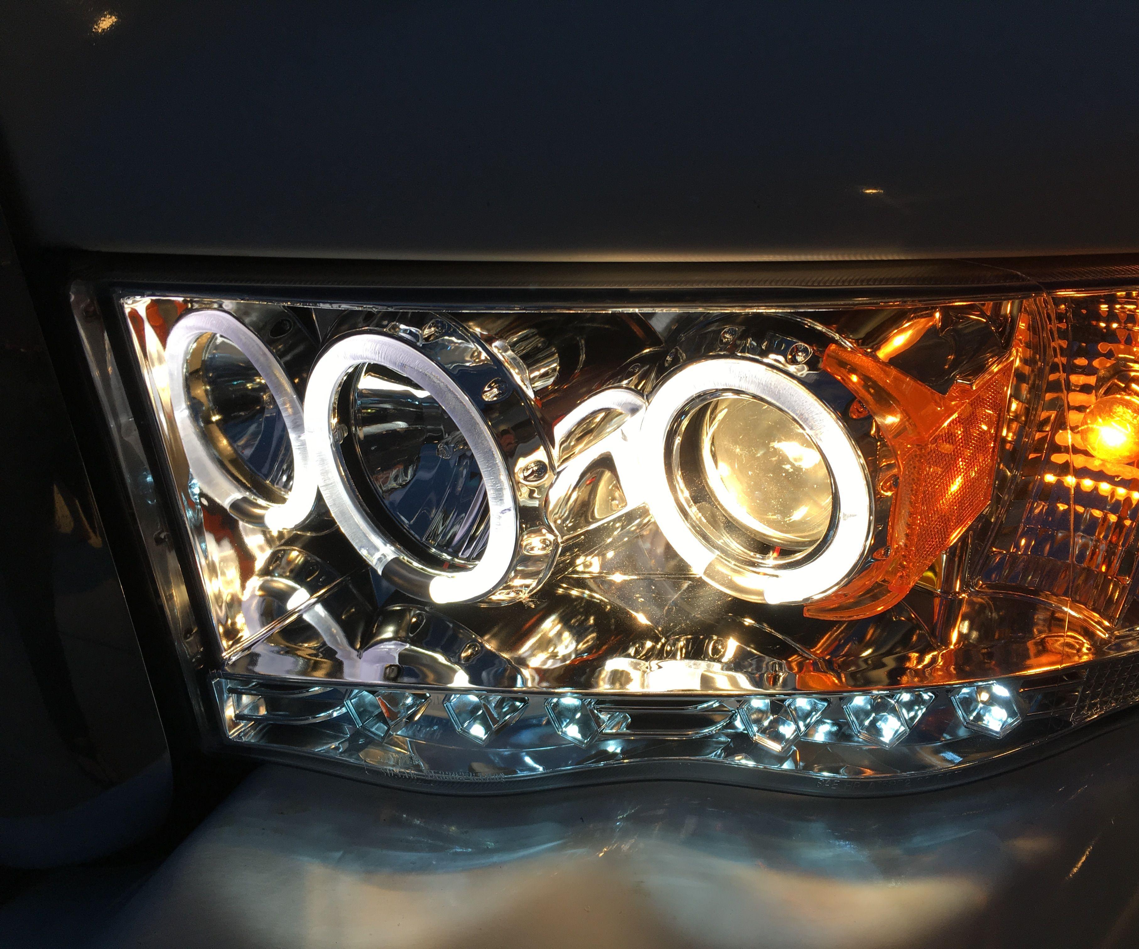 Installing Halo Headlights on a 2004 Dodge Ram Pickup