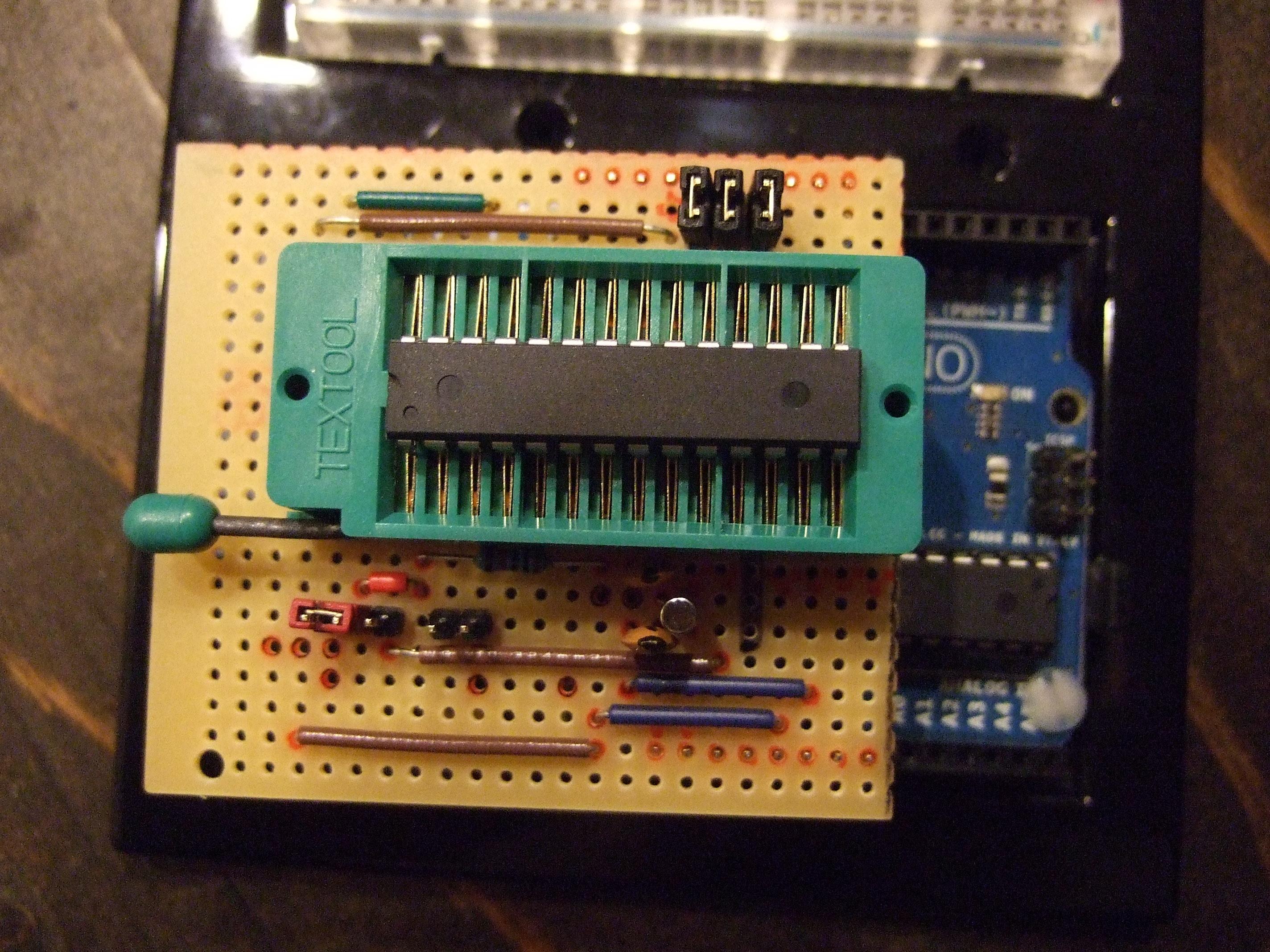 ArduinoISP Bootloader/Programmer Combination Shield