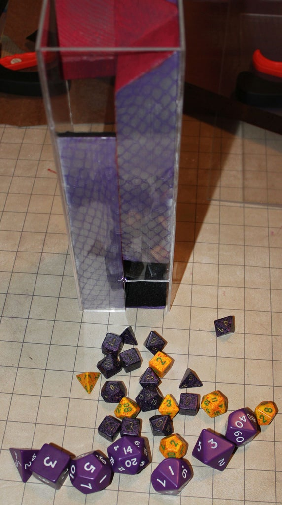 Dragon Scale Dice Tower