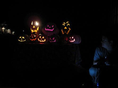 Singing Pumpkins/Parallel Port Relay Box