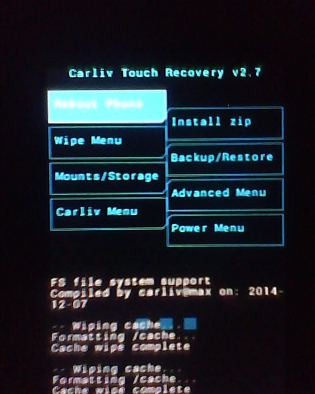 Installing the Recovery