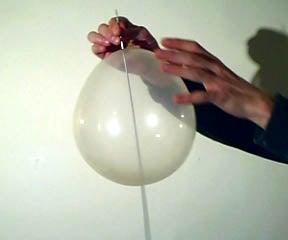 Needle Through Balloon Revealed