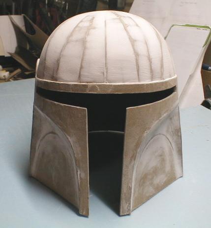 How to make a cardboard costume helmet