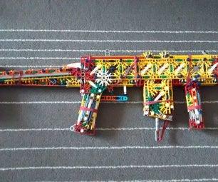 Linkin's Lightning Carbine (LLC)   a K'nex SMG