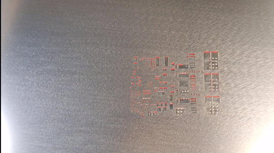 Apply Solder Paste to PCB
