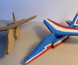 Alphajet Out of Cardboard