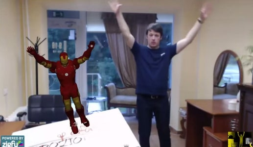 Augmented Reality Using Unity3D, Vuforia, Zigfu and Kinect – Control Character With Your Body