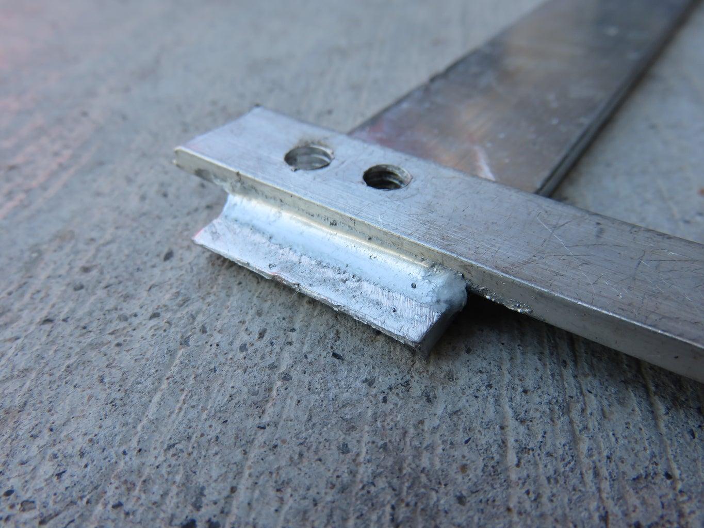 Brazing Aluminum.