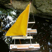 Make a Toy Catamaran