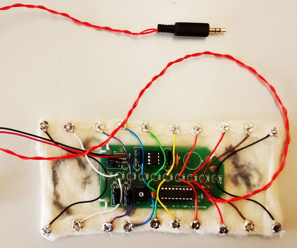 Light Up: Sound Responsive Device