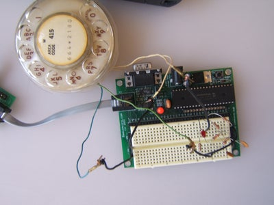 Connect the Dialer to the PIC Chip.