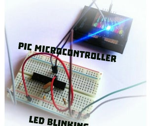 How to Blink an Led Using PIC Microcontroller ?