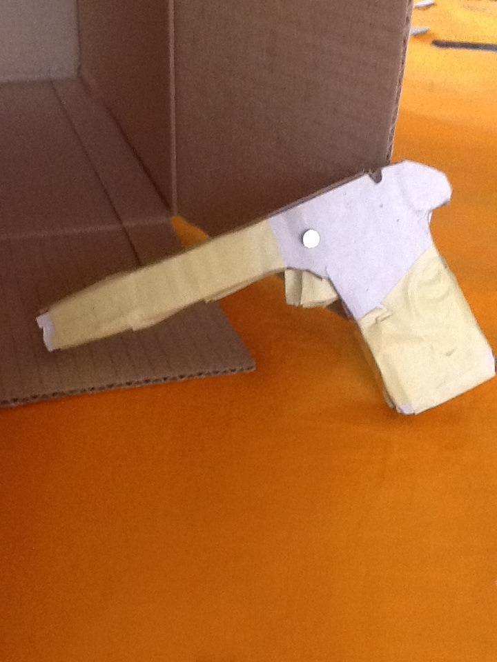 Rubber Band Gun Cardboard